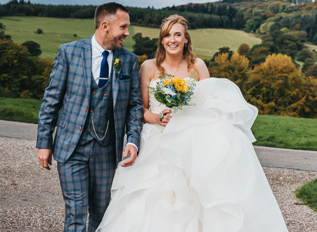 I photographed the Last Ever Wedding At Chirk Castle