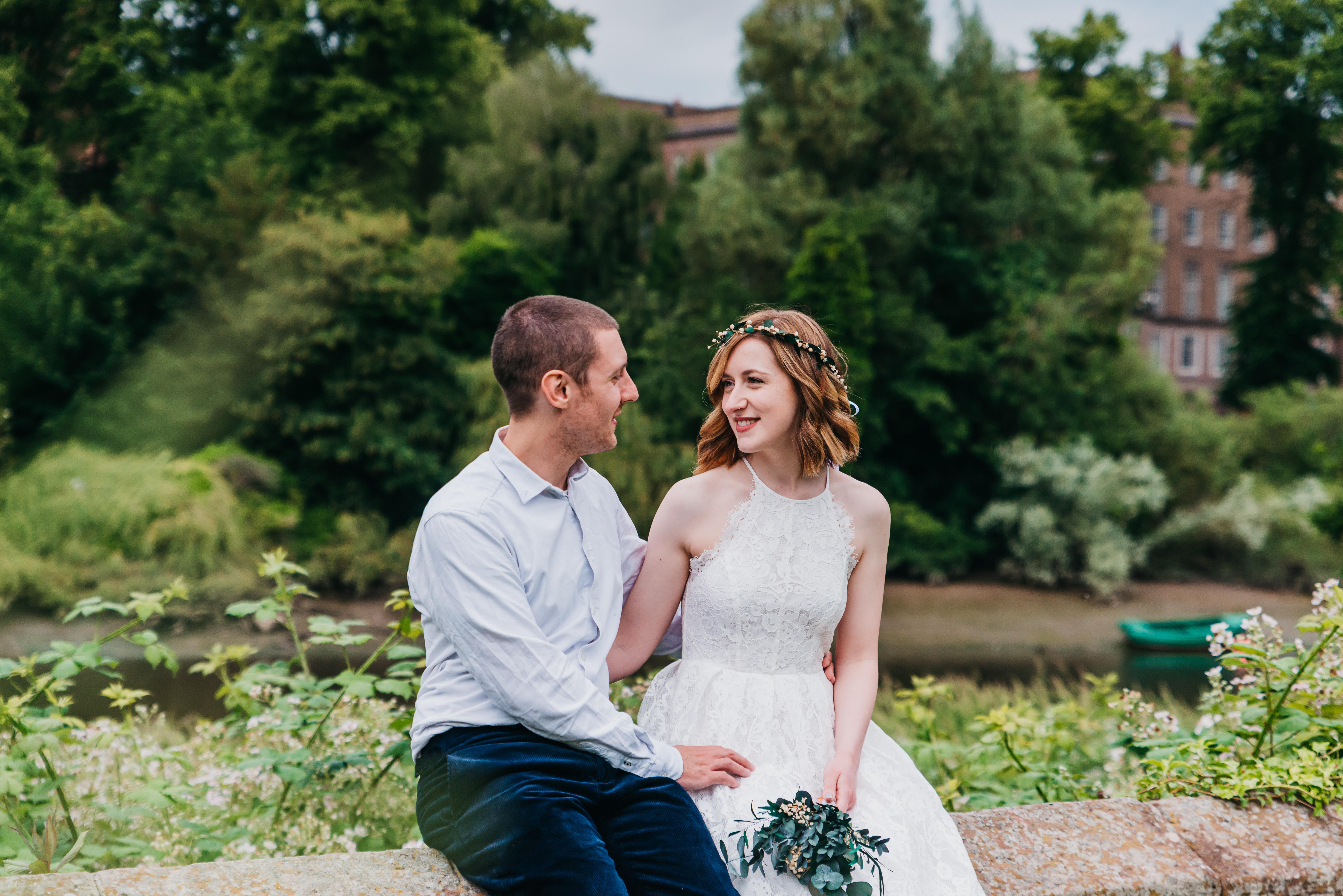 Chester wedding photography River De