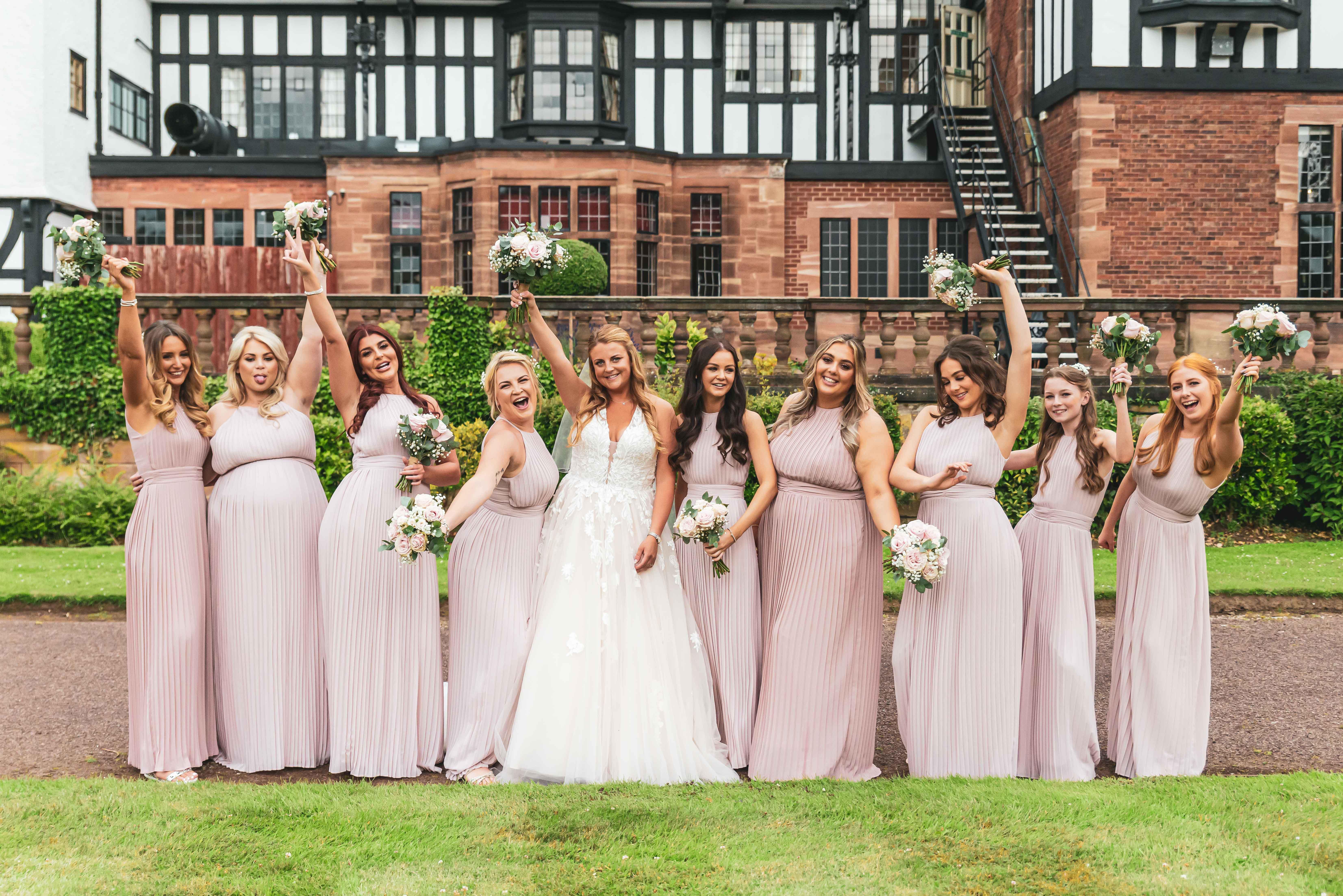 The Grosvenor Pulford wedding photography