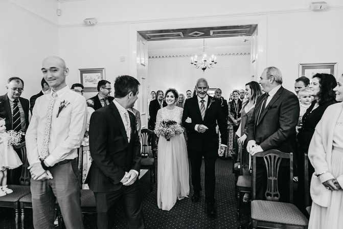 Mold Registry Office wedding photographer