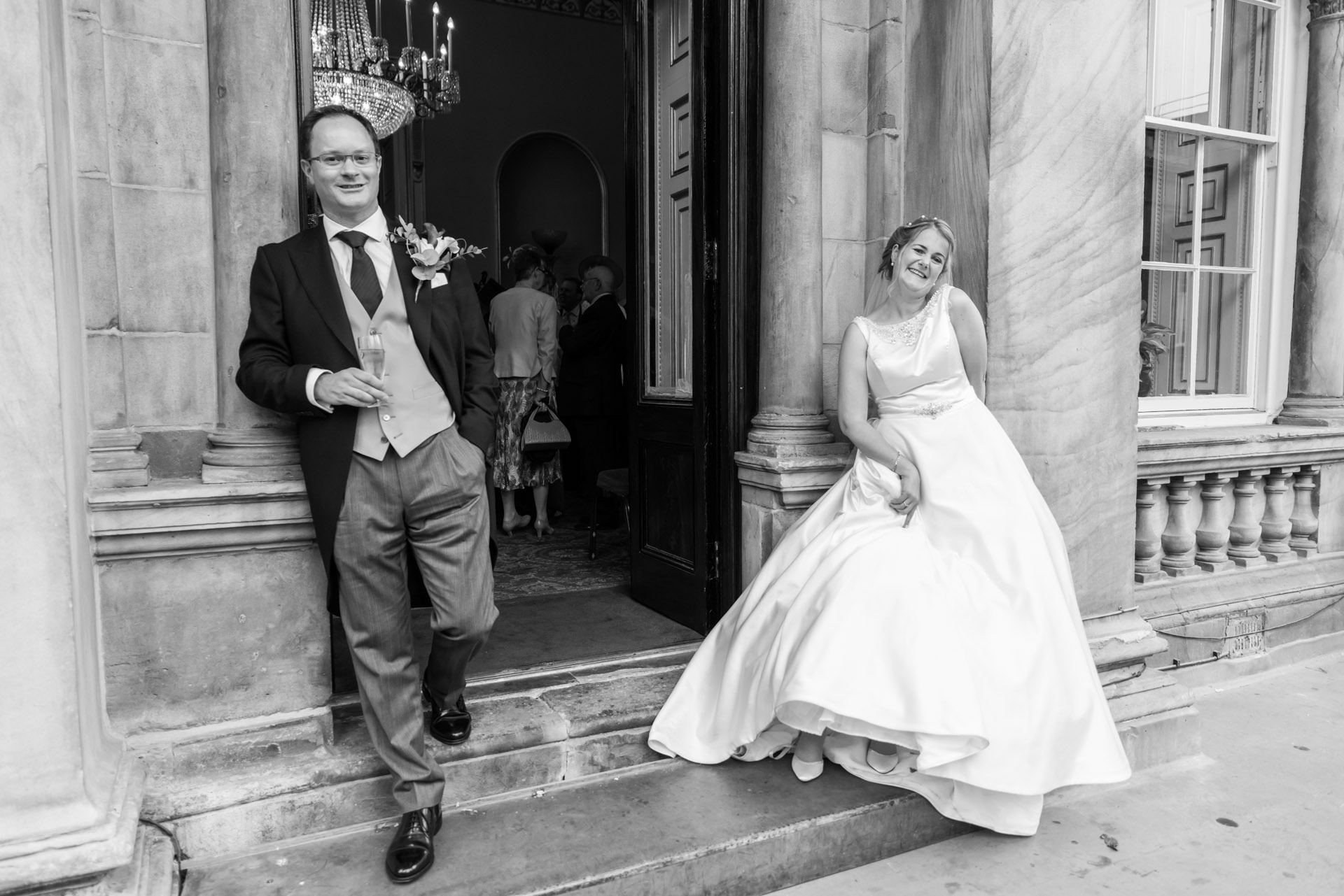 Liverpool Town Hall Wedding Photo