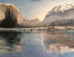 Yosemite in Oil