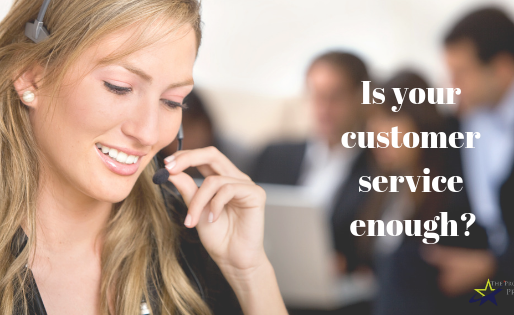 Is Customer Service Enough?
