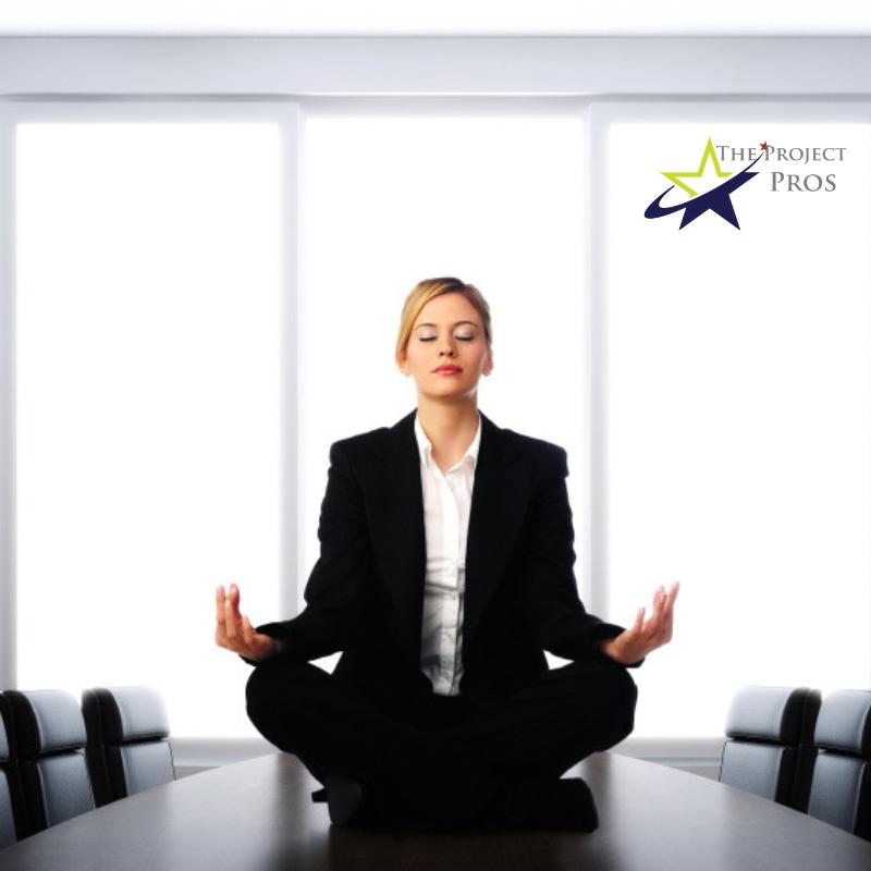 Meditate at work