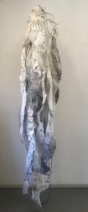 Alison Woods Installation artist Ali Woods artist abstract painter sculpture curating Art Trends         Artist of the Year installations Modern artist contemporary artist exhibited Internationally