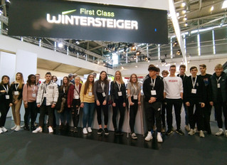 ISPO Munich: Größte Messe des Sport Business beeindruckt HAK-Schüler