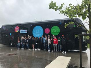 Eine Reise in die Finanzwelt mit dem FLIP-Bus