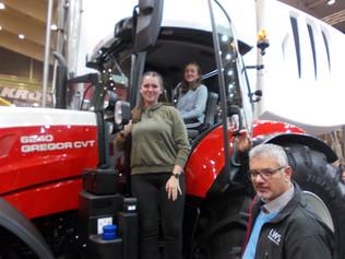 Agrarschüler besuchen größte Landwirtschaftsmesse Österreichs