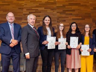 Gratulation zum WU research talent award