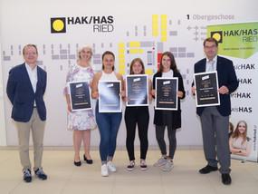 Finanzbildung Wettbewerb KARDEA - wir gratulieren unserem Siegerteam!