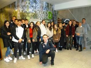iSchool zu Gast bei der Druckstore Bernard GmbH