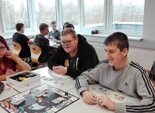Obernberg`s Polytechnische Schule spielt Business Master