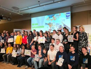 Spitzenschule 2019 - 2.+3. Platz