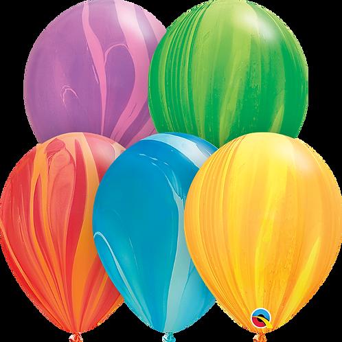 """11"""" Rainbow Superagate"""