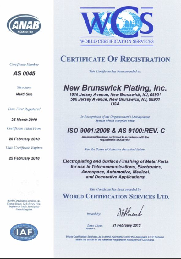 AS9100 & ISO 9001