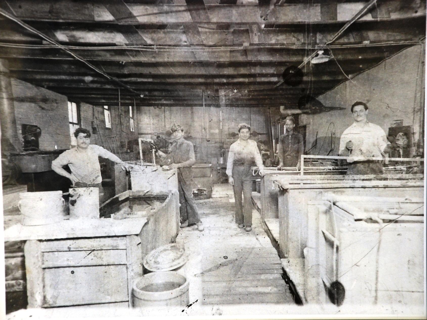 Old Plating Room