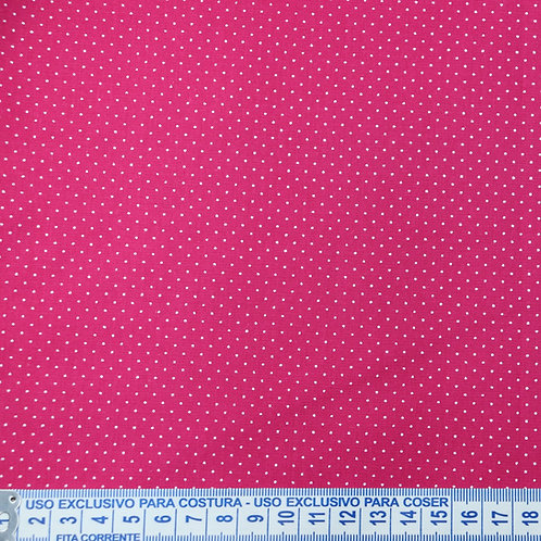 Tricoline  Micro Poá Pink 0,50 x 1,40m
