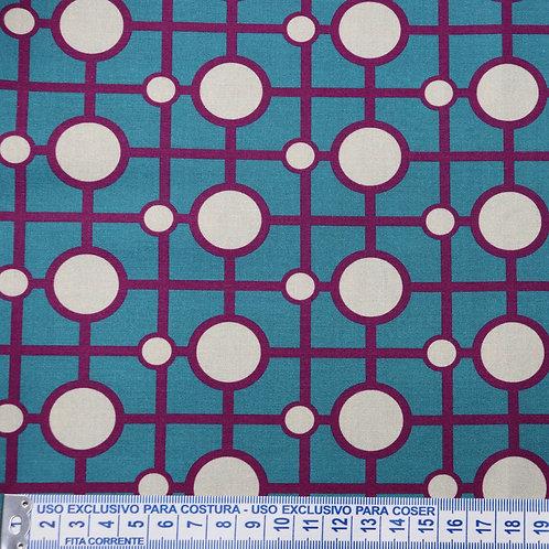 Tricoline  Digital Retro 1 0,50 x 1,40m