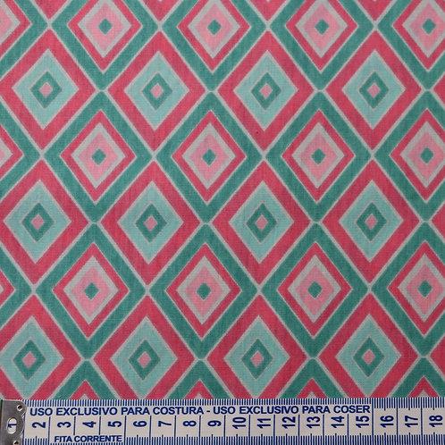 Tricoline  Losângulos 0,50 x 1,40m