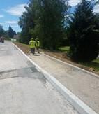 Travaux d'aménagement de la RD12