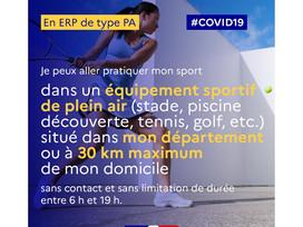 Vivre et bouger malgré la COVID 19