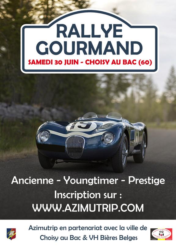 [AZIMUTRIP] Rallye Auto Gourmand (OISE)