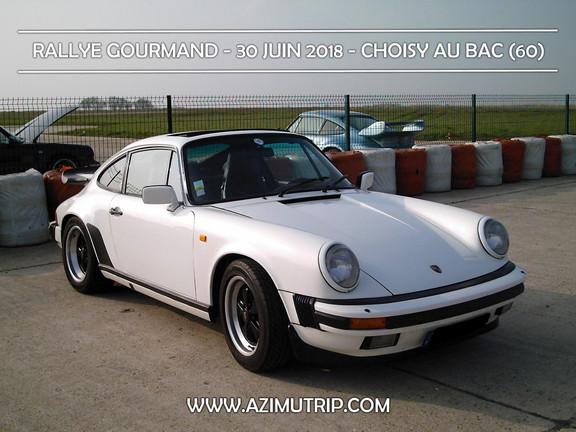 [AZIMUTRIP] Porsche 911: RALLYE GOURMAND
