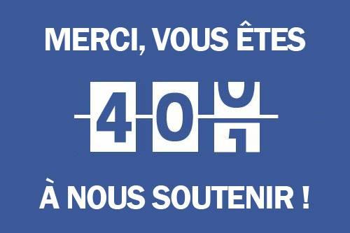 [Facebook] 400 j'aimes sur la page AZIMUTRIP