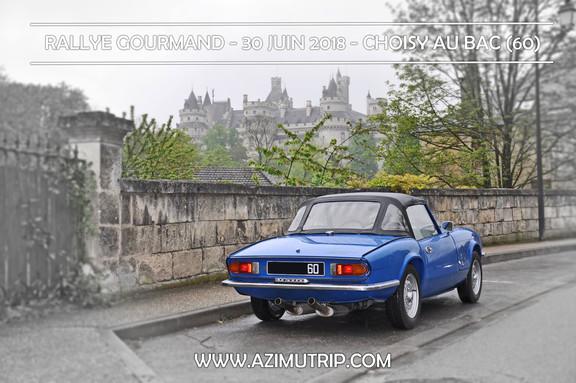 [AZIMUTRIP] Rallye gourmand Auto : TRIUMPH