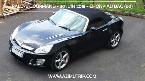 [AZIMUTRIP] Rallye Gourmand : Opel GT