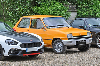 Photo renault 5 turbo fiat 126 abarth rallye auto touristique picardie azimutrip