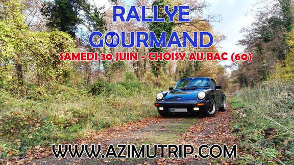 [AUTO] Rallye en PORSCHE 911 (Picardie)
