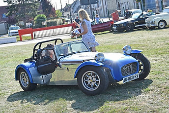 Photo rallye caterham seven 275 485 csr 485 motorsport ile de france