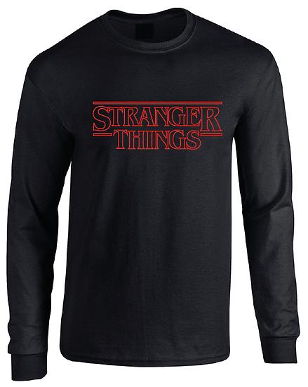 Stranger Things Season 1 Logo Long Sleeve T-Shirt