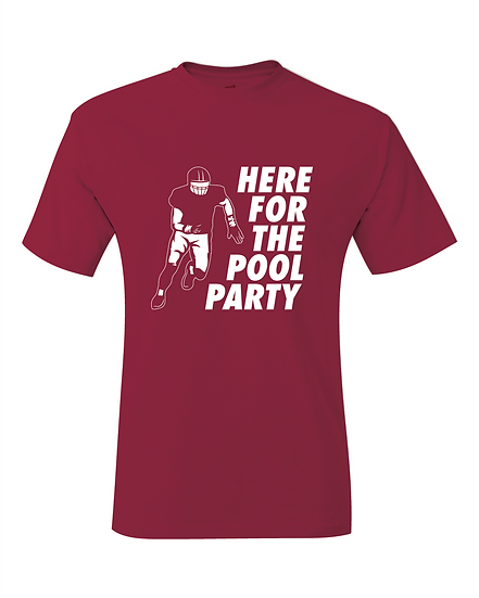 Arkansas Bumper Pool Party Jersey T-Shirt