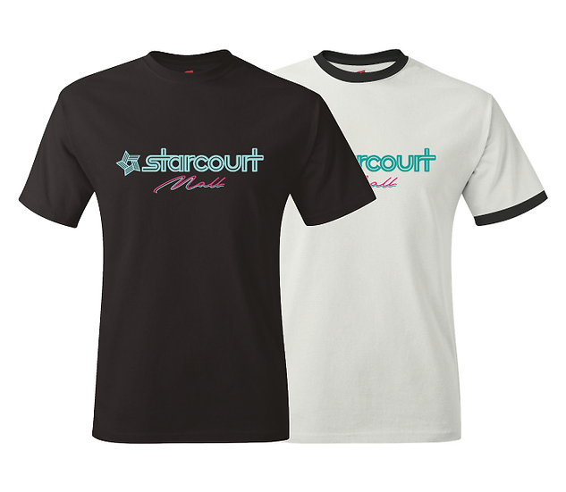 Starcourt Mall Stranger Things Season 3 Logo T-Shirt