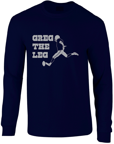 Dallas Greg Zuerlein Greg The Leg Jersey Long Sleeve T-Shirt