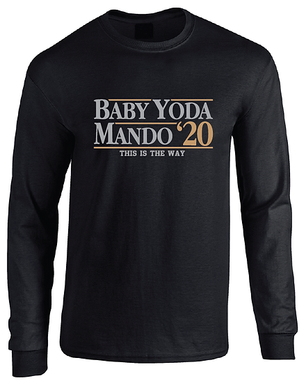 The Mandalorian Baby Yoda 2020 Long Sleeve T-Shirt