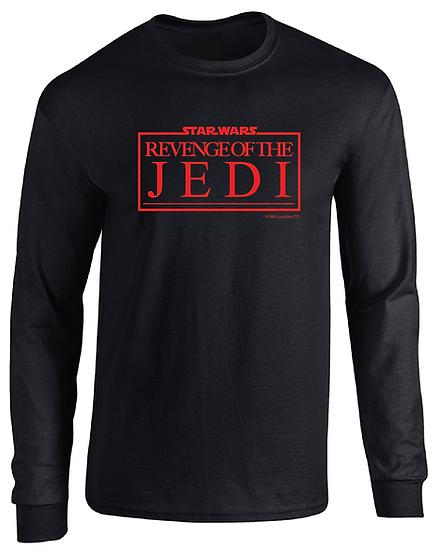 Star Wars Revenge of the Jedi 1983 Logo Long Sleeve T-Shirt