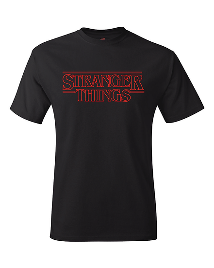Stranger Things Season 1 Logo T-Shirt