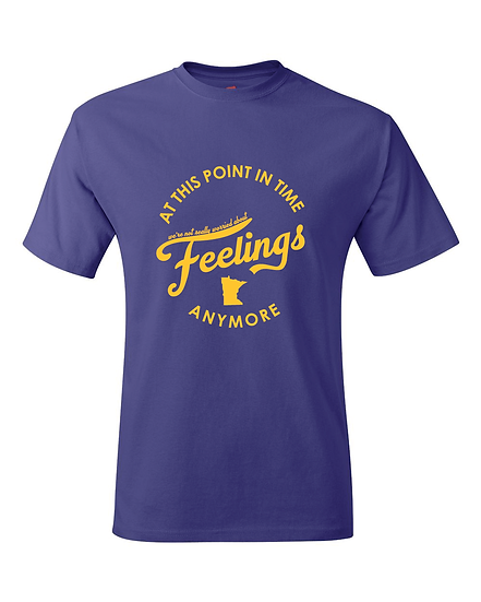 Minnesota Mike Zimmer Feelings Quote T-Shirt