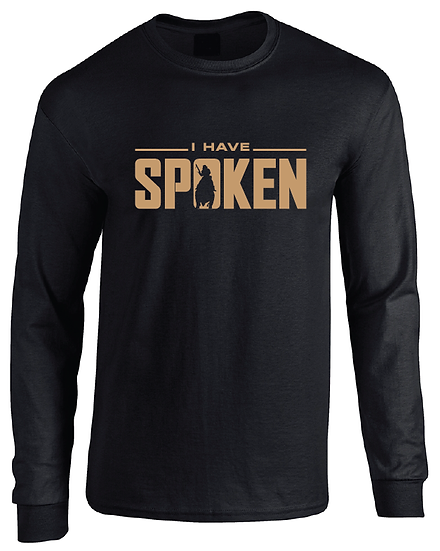The Mandalorian I Have Spoken Kuill Logo Long Sleeve T-Shirt