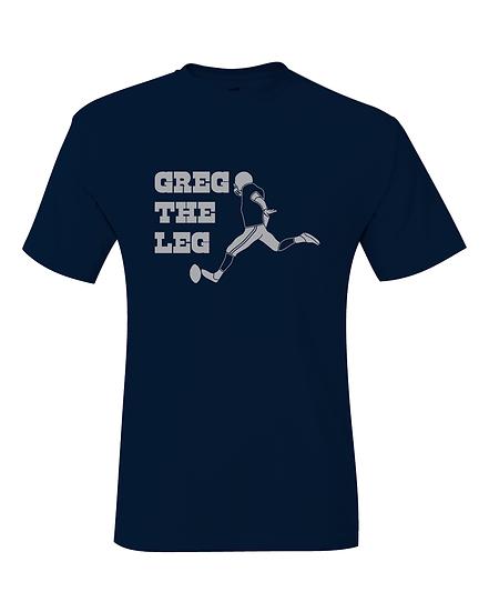 Dallas Greg Zuerlein Greg The Leg Jersey T-Shirt