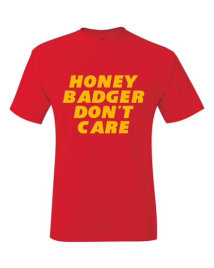 Kansas City Tyrann Mathieu Honey Badger Don't Care T-Shirt