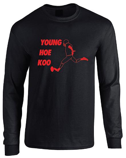 Atlanta Younghoe Koo Jersey Long Sleeve T-Shirt