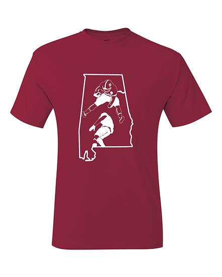 Alabama Najee Harris Bowl Game Hurdle Jersey T-Shirt