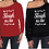 Thumbnail: Christmas Sleigh All Day Women's Off The Shoulder Slouch T-Shirt