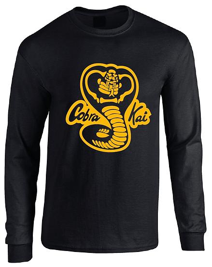Cobra Kai Karate Kid Logo Long Sleeve T-Shirt