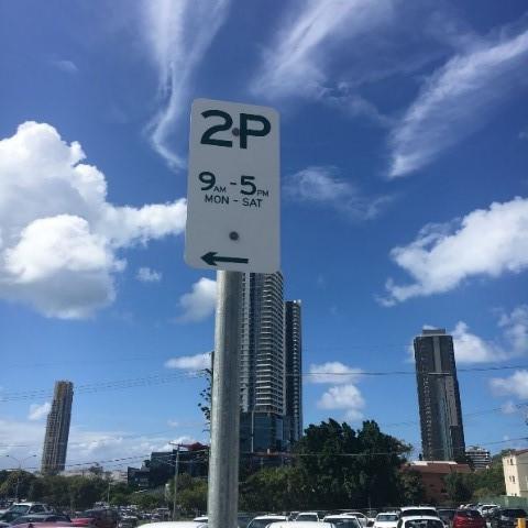 2P street parking