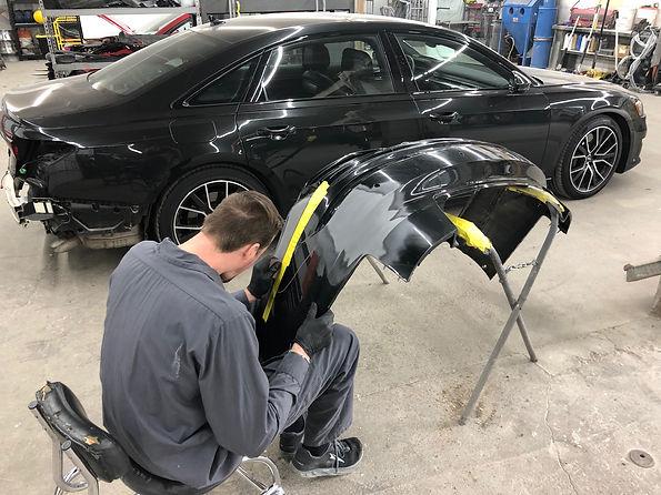 bumper repair rochester mi garrys collision